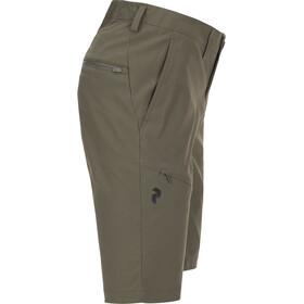 Peak Performance W's Treck Long Shorts Terrain Green